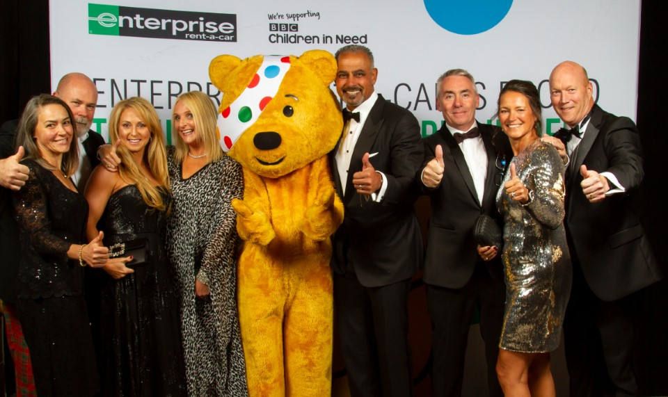 Enterprise employees raise record funds for BBC Children in Need charity