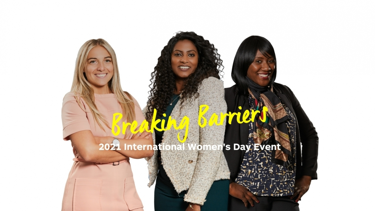Enterprise Rent-A-Car - 2021 International Women's Day Event - Breaking Barriers